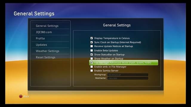 Xbox 1 Emulator Partitions Fixer für Xbox 360