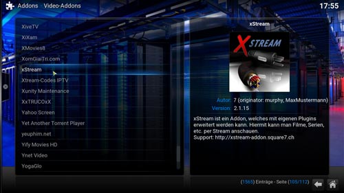 xstream superrepo installieren