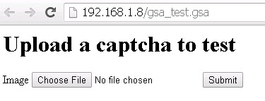 captcha Breaker Test